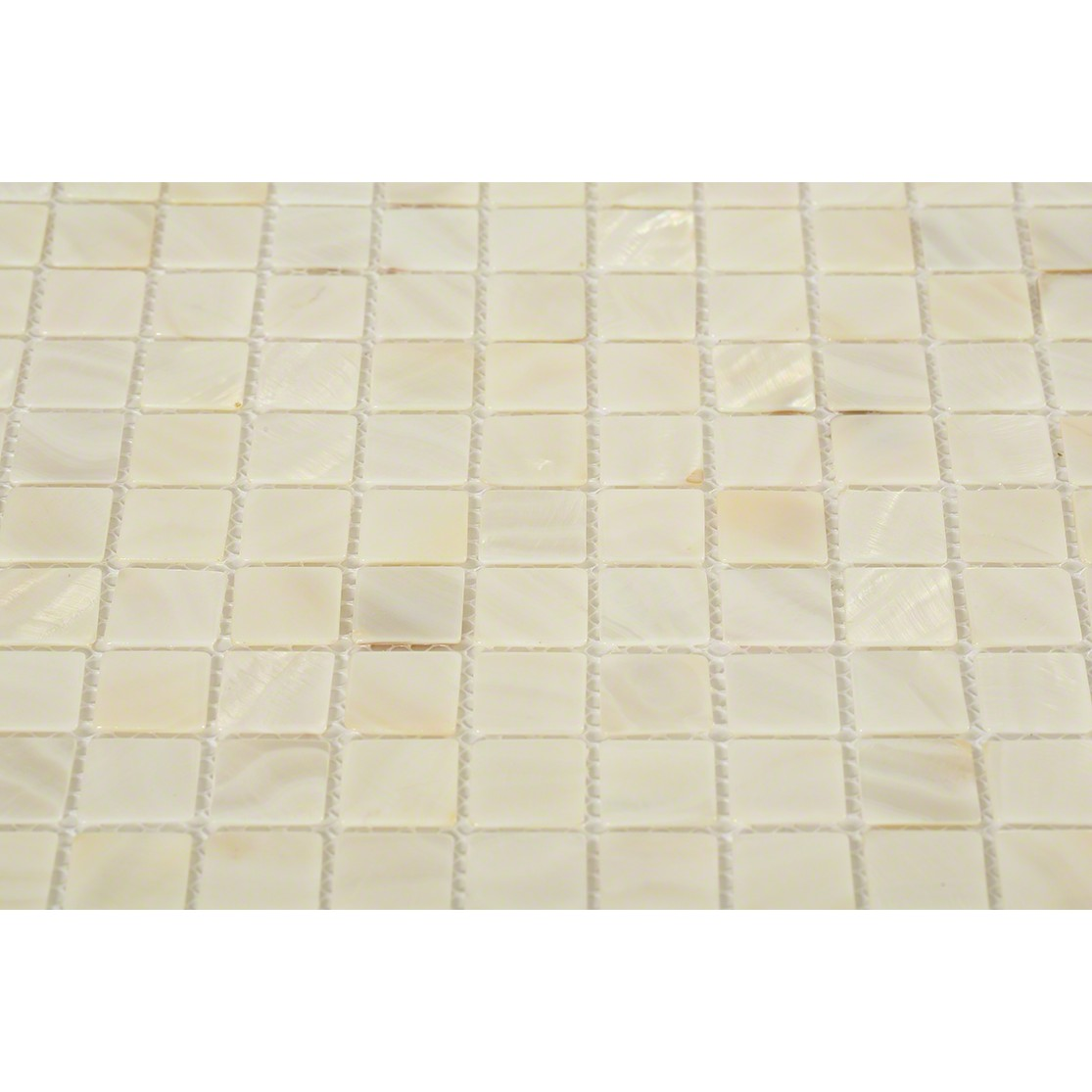 Mother Of Pearl Oyster White Glass Tile