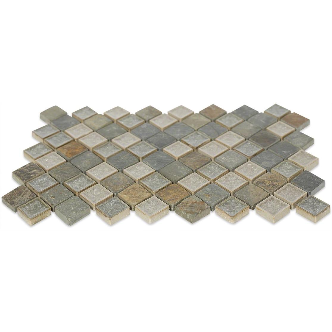 Shop 11 X 11 Roman Collection Emperial Slate Diamond