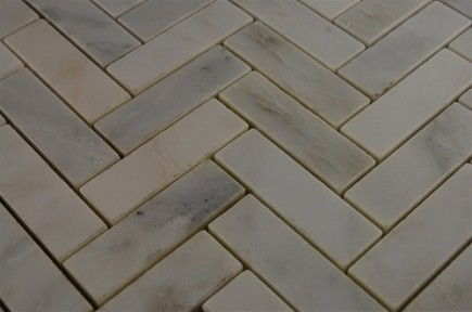 sample-ASIAN STATUARY HERRINGBONE 1X3 1/4 SHEET SAMPLE_MAIN