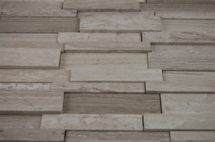 sample-ILLUSION 3D BRICK PATTEREN WOODEN BEIGE 1/4 SHEET SAMPLE_MAIN