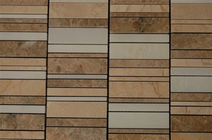 sample- WATERFALL PATTERN DESERT SOILS 1/4 SHEET  TILE SAMPLE_MAIN