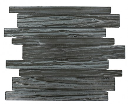 Terrene Black Locust Planks Glass Tile