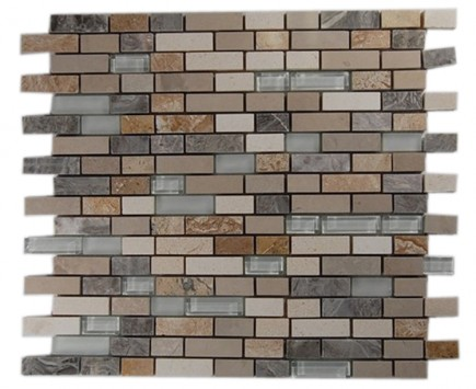 ALLOY SUTJESKA 1/2X2 Glass and Marble Tiles_MAIN
