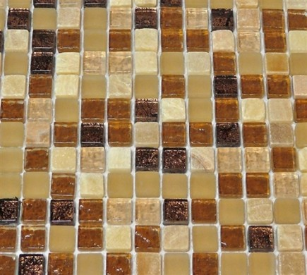 "sample- SOUTHERN TRAIL BLEND 1/2 X 1/2"" 1/4 SHEET  TILES SAMPLE SQUARES""_MAIN"