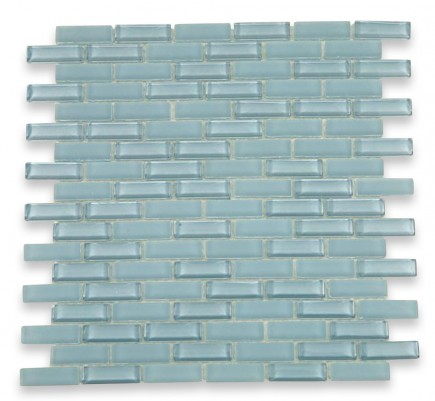 Loft Blue Gray 1/2x2 Brick Pattern