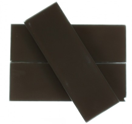"LOFT MAHOGANY FROSTED 4 X 12"" GLASS TILES""_MAIN"