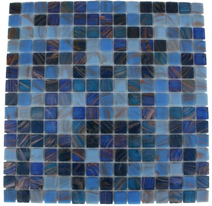 LAKE BLUE 3/4X3/4 GLASS TILE_Main