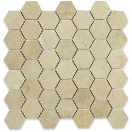 Crema Marfil Hexagon_Main