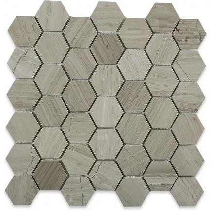 Wooden Beige Hexagon_Main