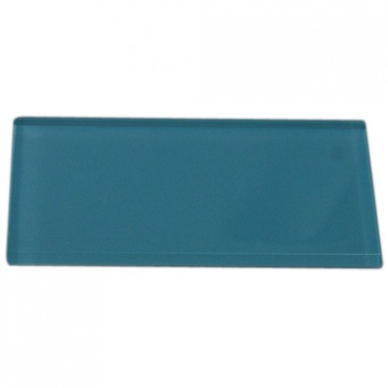 "LOFT TURQUOISE POLISHED 3 X 6"" GLASS TILES""_1"