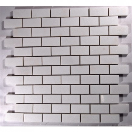 sample-POLISHED WHITE THASSOS 1X2 TILE 1/4 SHEET SAMPLE_MAIN