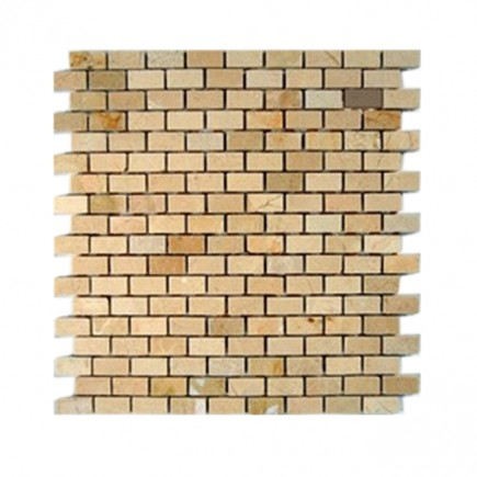 sample-CREMA MARFIL 1/2X1  TILES CLASSIC BRICK 1/4 SHEET SAMPLE_MAIN