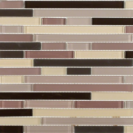 Tao Cinnabar Glass Tile