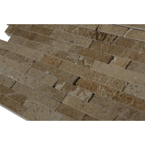 Noche Travertine Cracked Joint_corner_closeup