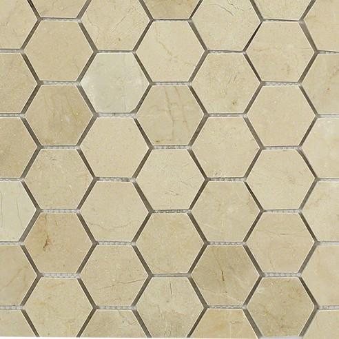 Crema Marfil Hexagon_Main