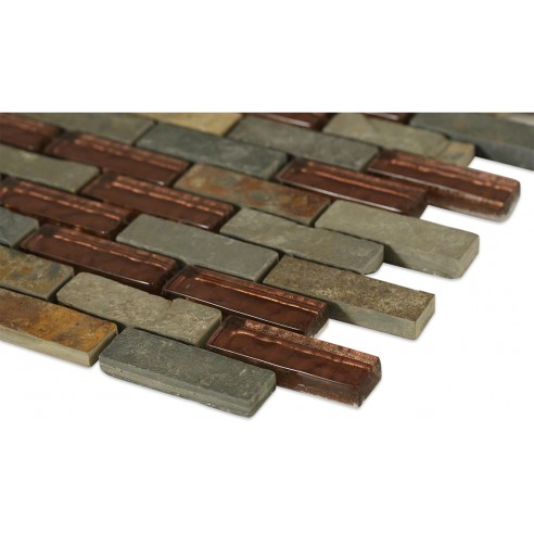 Geological Multi Slate + Rust_corner_closeup