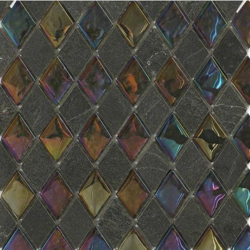 Geological Diamond Black Slate + Rainbow_Main