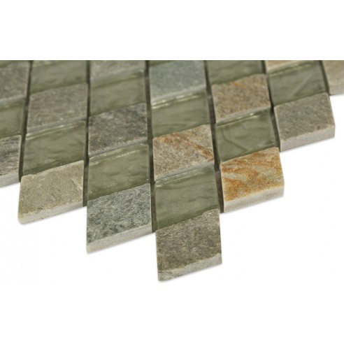 Geological Diamond Green Slate + White Gold_Corner_closeup