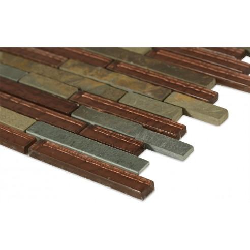 Geological Tao Multi Slate + Rust_corner_closeup