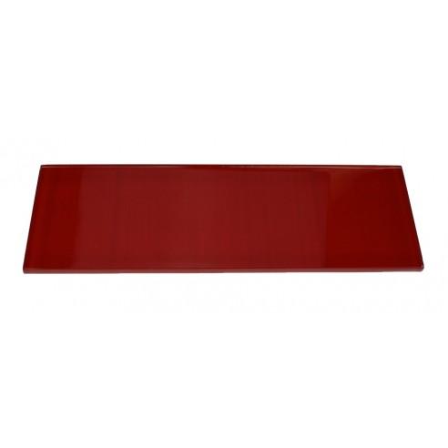 LOFT CHERRY RED POLISHED 4x12 GLASS TILE_MAIN
