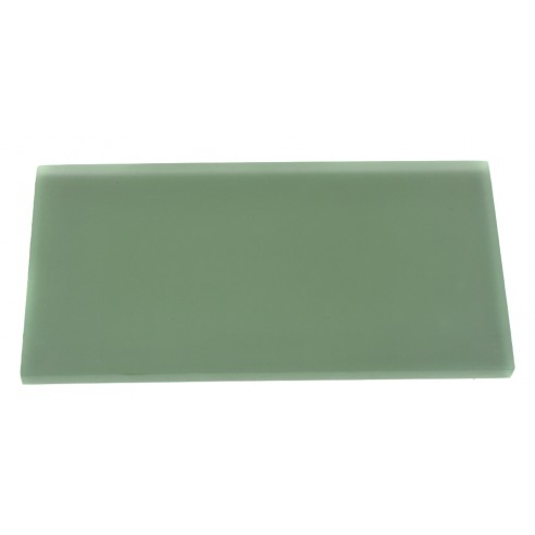 LOFT SPA GREEN FROSTED 3x6 GLASS TILE_MAIN