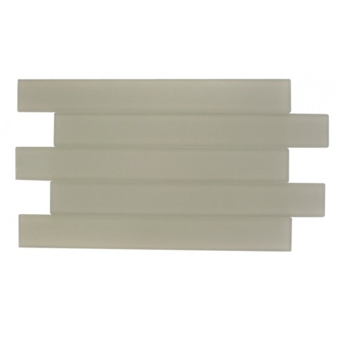 Loft Horizon Macadamia Frosted 2x16 Glass Tile