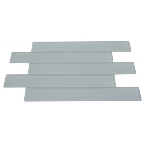 Loft Horizon Sea Foam Green Frosted 2x16 Glass Tile