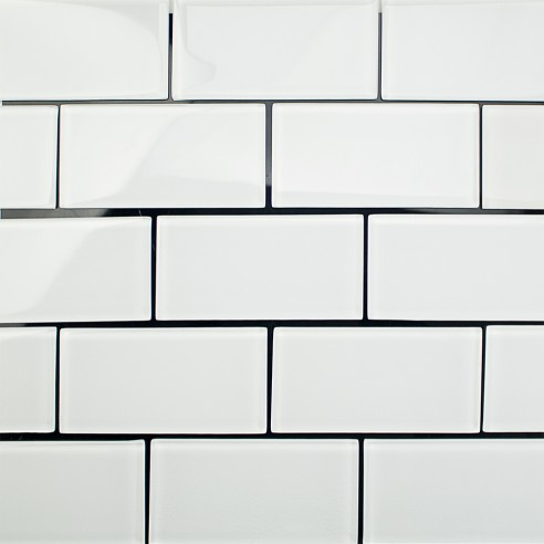 "LOFT SUPER WHITE POLISHED 3 X 6"" GLASS TILES""_4"