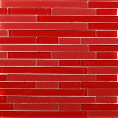 Tao Red Planet Glass Tile