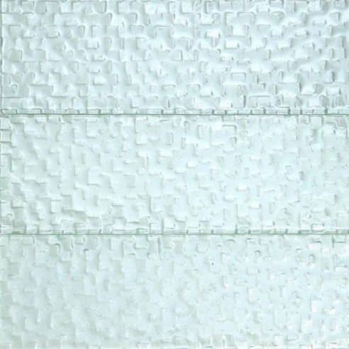 Terrene Snow Cap 4x12 Glass Tile