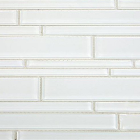 Spa Tuscany Pattern Super White Glass Tile