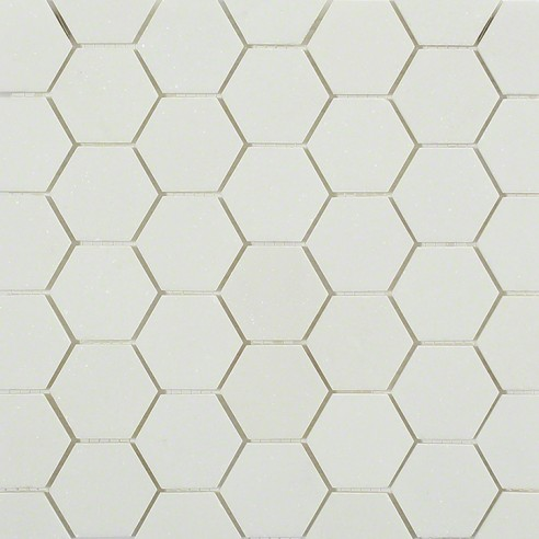 White Thassos Hexagon_main