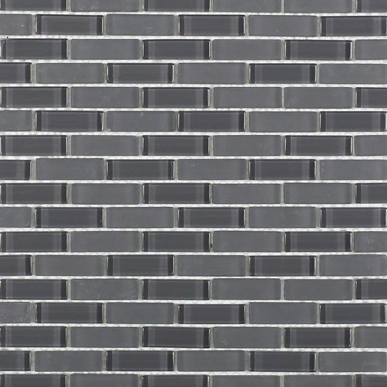 shop for loft ash gray 1 2x2 brick pattern at