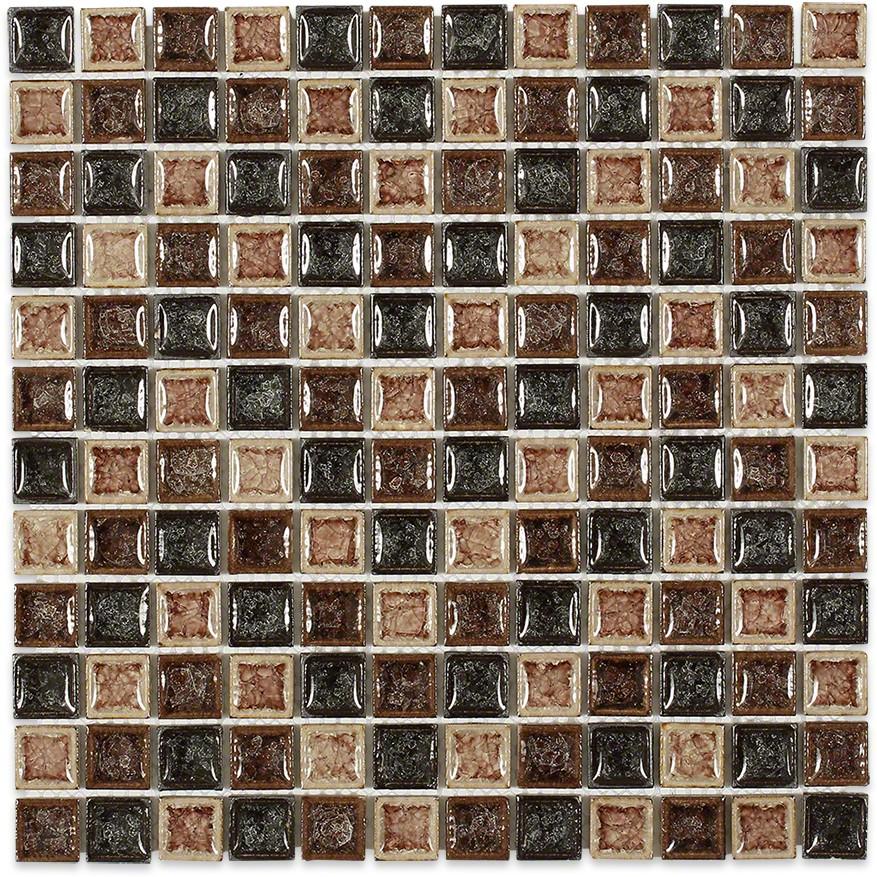 Roman Collection Il Suolo 1x1 Glass Tile Tilebar Com