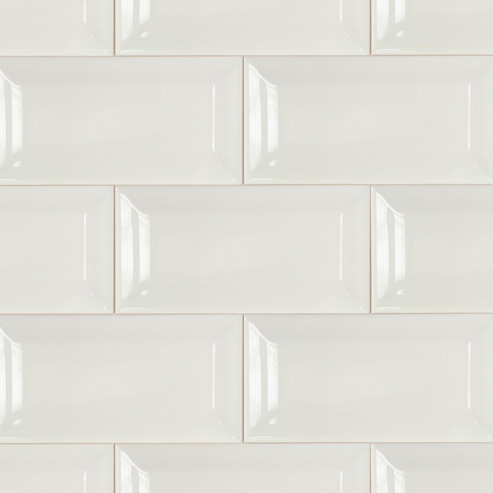 28 best beveled white tile carrara white subway tile. Black Bedroom Furniture Sets. Home Design Ideas