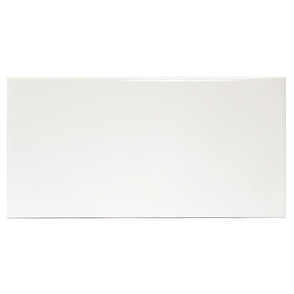 Basic 8x16 White Ceramic Tile