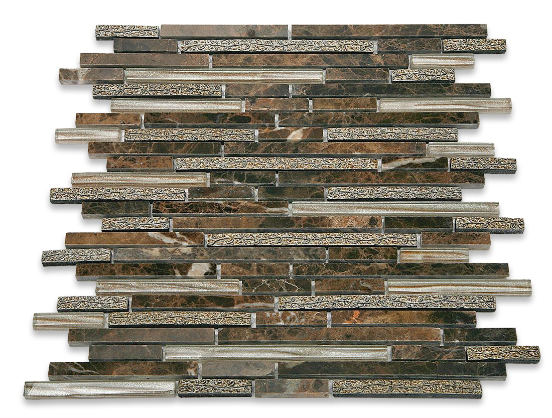 Arcadia Brick http://www.glasstilestore.com/shop-by-colors-now/arcadia-juniper-random-brick-glass-and-stone-tile.html