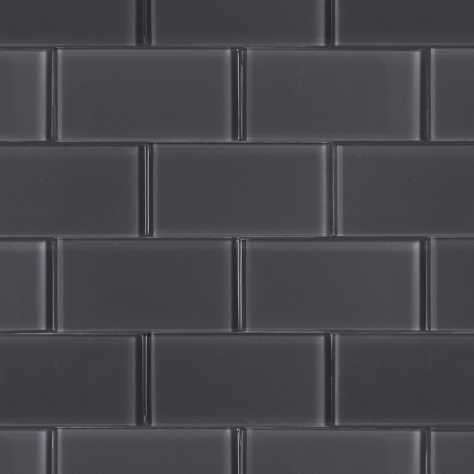 Sample White Gray Random Subway Glass Mosaic Tile Kitchen: Ash-grey-brick-polished-3x6.jpg