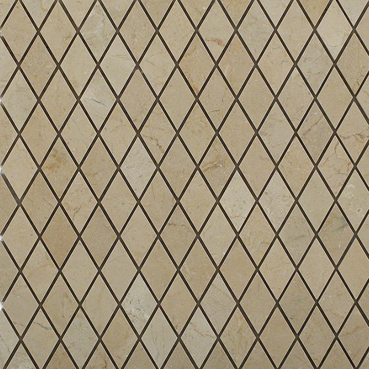 Crema marfil diamond glass tile tilebar com