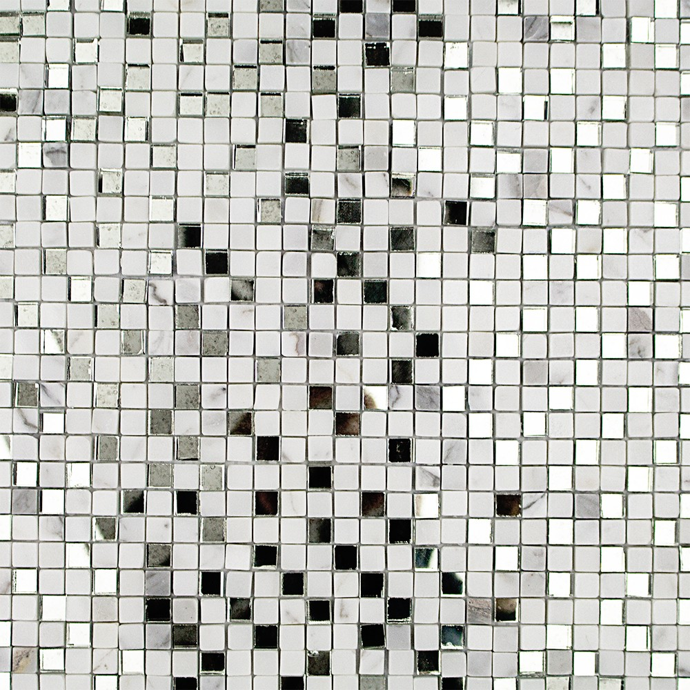 Kelli ellis soli marble and mirror marble and glass tile