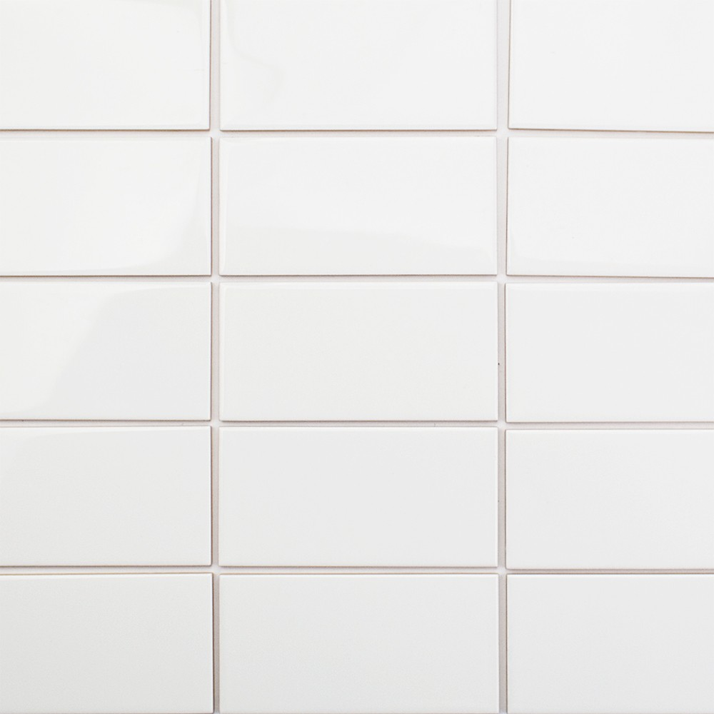 White glass subway tile 3x6 28 images 3x6 brick for White subway tile