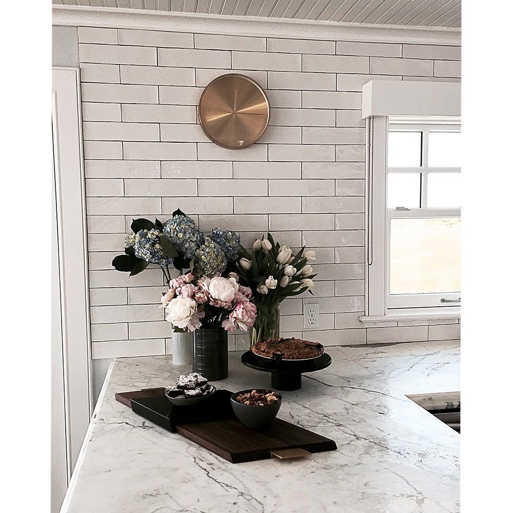 Ceramic Subway Tile Kitchen Backsplash: Shop For Lancaster 3x12 Bianco Ceramic Tile At TileBar.com