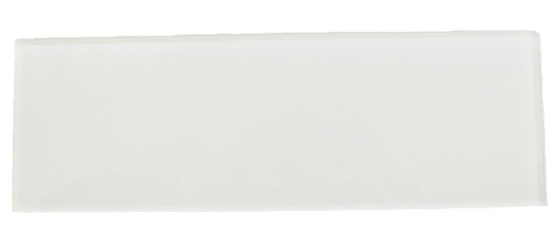 Loft Super White 6x18 Polished Glass Tile