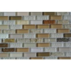 Brassy Glass Tiles