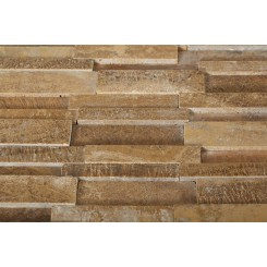 Illusion 3D Brick Wood Onyx Pattern Marble Tile