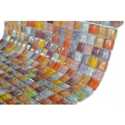 Ablaze Glass Tiles