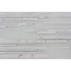 "Breeze Stylus Carrera Ice Pattern 1/8"" X Random Glass Tiles"