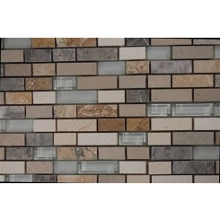 Alloy Sutjeska 1/2 X Random Glass And Marble Tiles