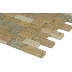 Alloy Sequoia Blend 1/2 X Random  Marble & Glass Tile