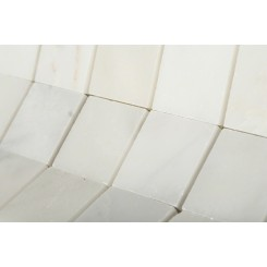 Asian Statuary 2x2 Honed Marble Tile